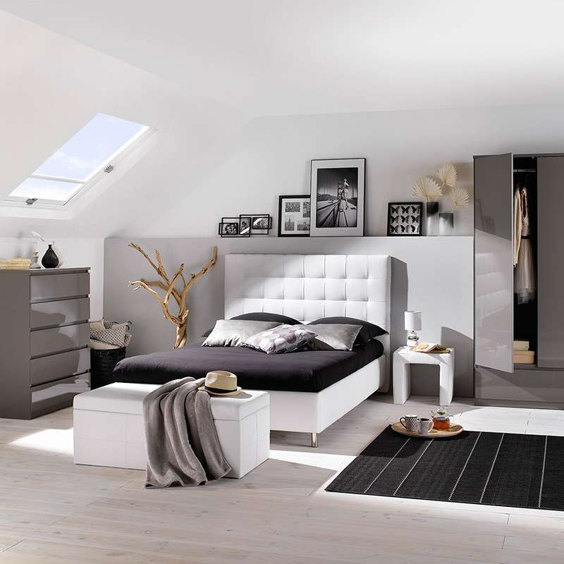 dco chambre blanc taupe