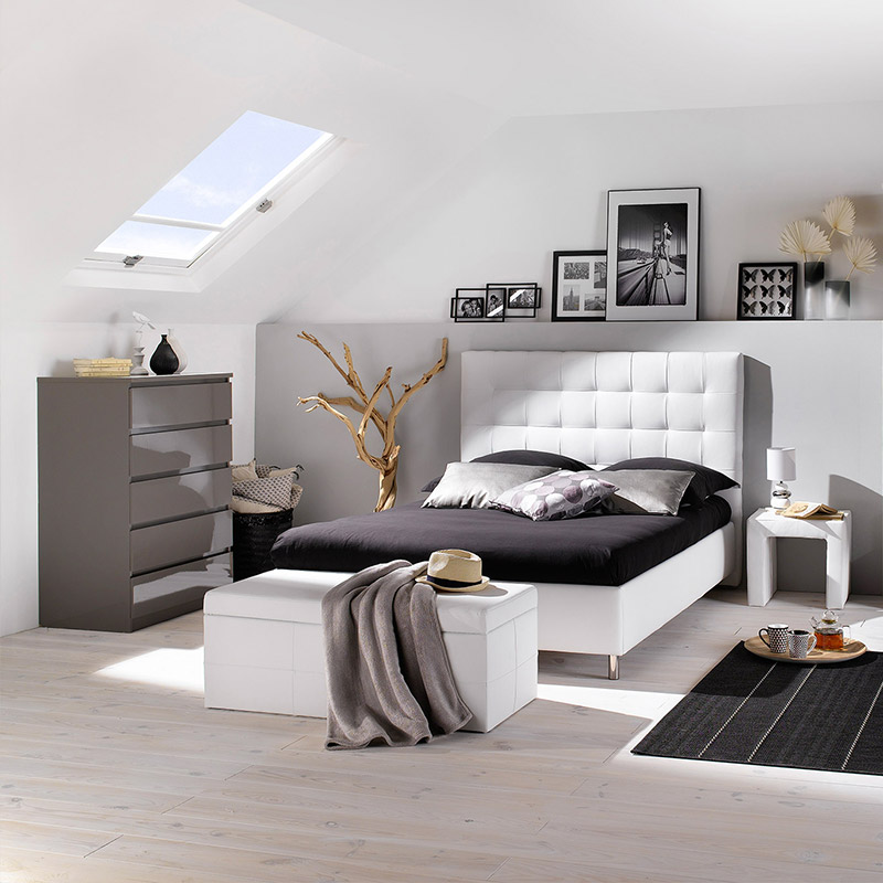 comment am nager facilement une chambre mansard e blog but. Black Bedroom Furniture Sets. Home Design Ideas