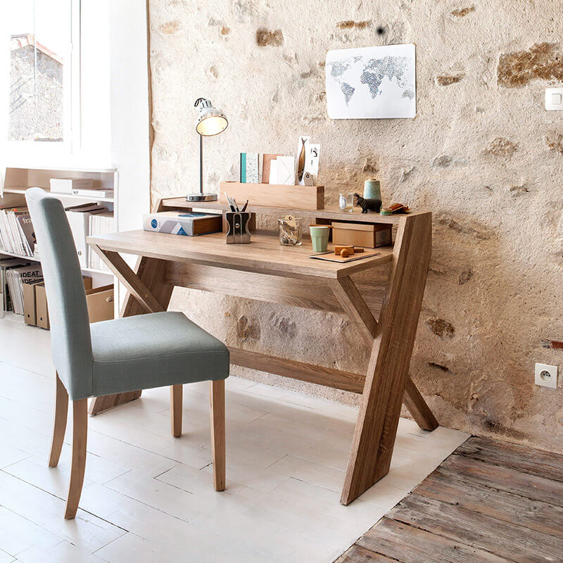 chaise bureau dossier confortable