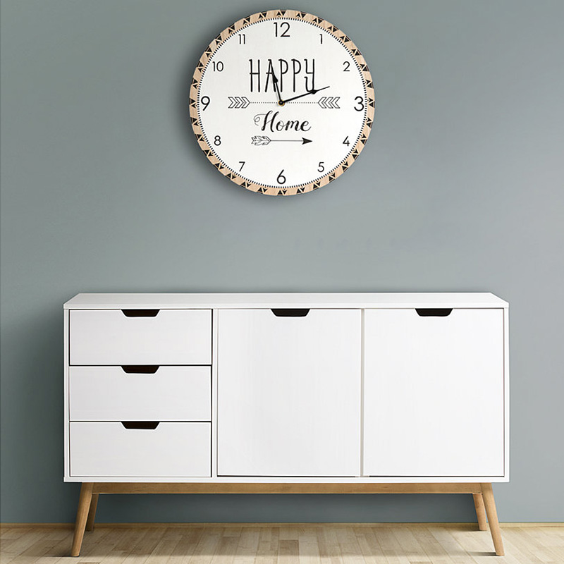 horloge happy home fleche