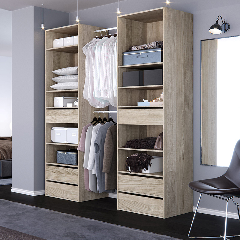 rangement de vos v tements 10 id es pour des affaires en ordre. Black Bedroom Furniture Sets. Home Design Ideas