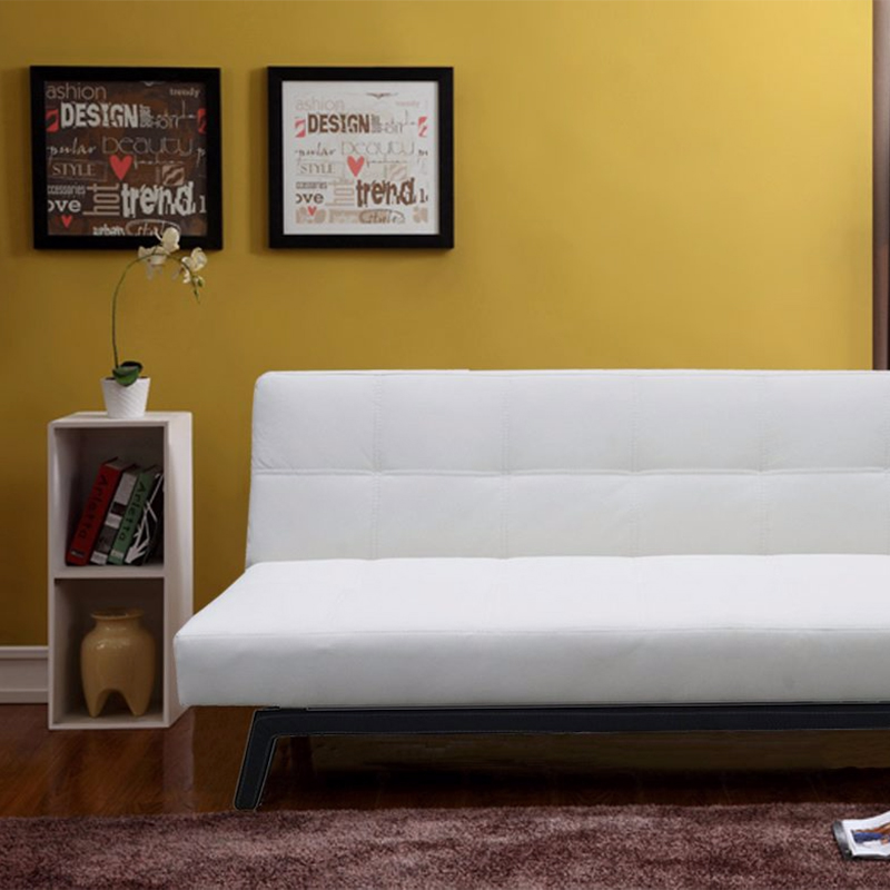 banquette convertible blanche