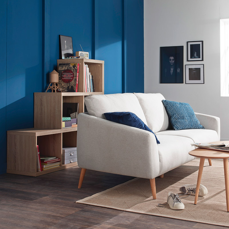 les couleurs qui se marient avec le bleu blog but. Black Bedroom Furniture Sets. Home Design Ideas