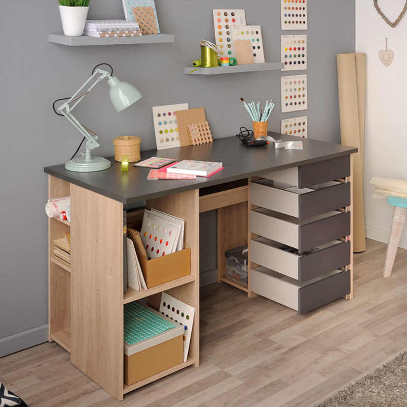 bureau modulable contemporain