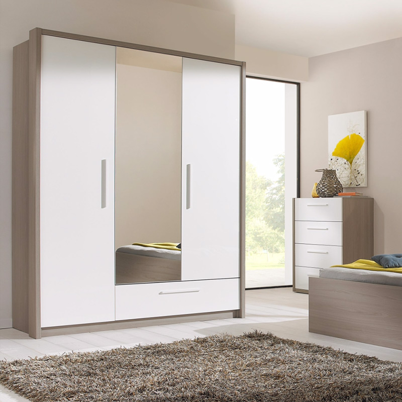 armoire blanche large