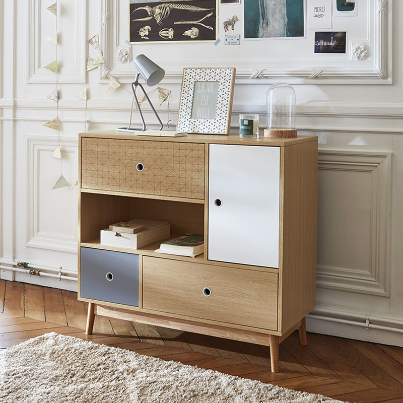 commode blanche ouverte fermee
