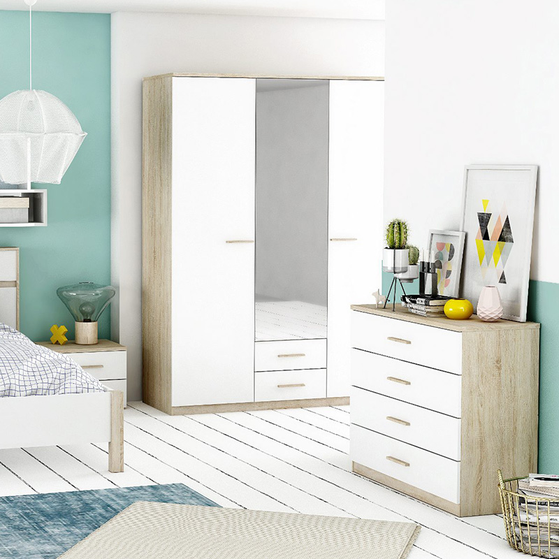 commode armoire bois chambre