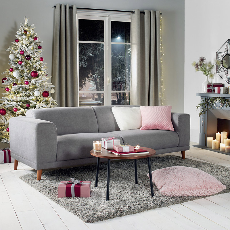 Décorer son salon pour Noël  15 photos inspirantes \u2013 Blog BUT