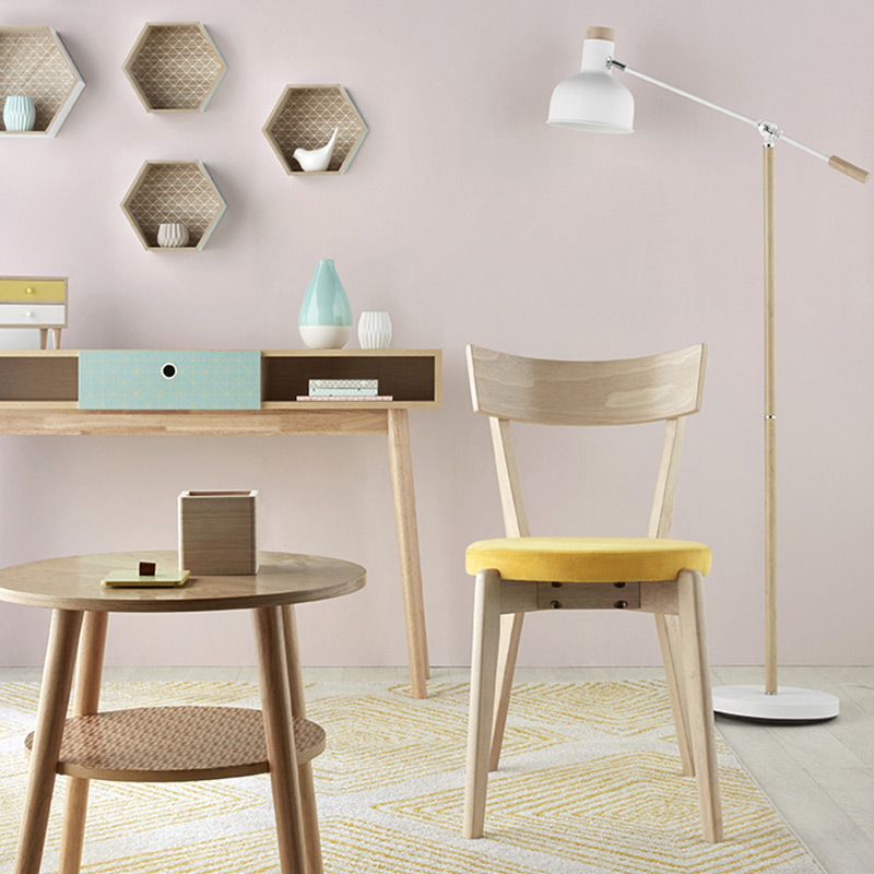 10 lampadaires de bureau pour illuminer votre d co blog but. Black Bedroom Furniture Sets. Home Design Ideas