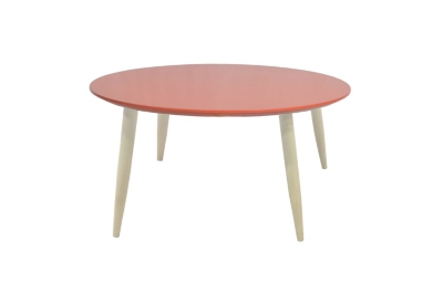 Table basse ronde MANON 387956 Corail