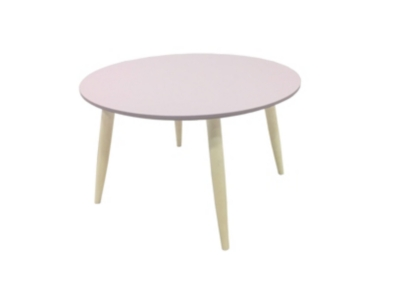 Table basse ronde MANON 387957 rose