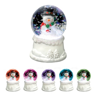 Boule neige LED  Multicolor