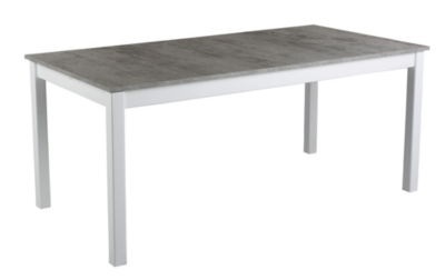 Table rectangle avec 2 allonge RUBEN