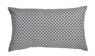 Coussin 30x50 cm LISOU Anthracite