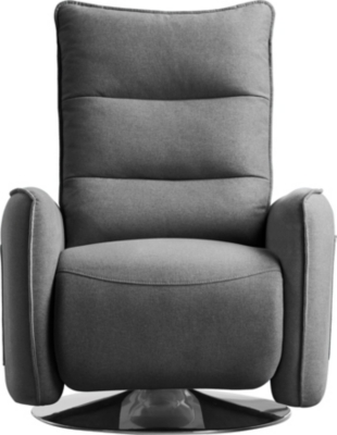 Fauteuil relax pivotant LAGOON Tissu Gris