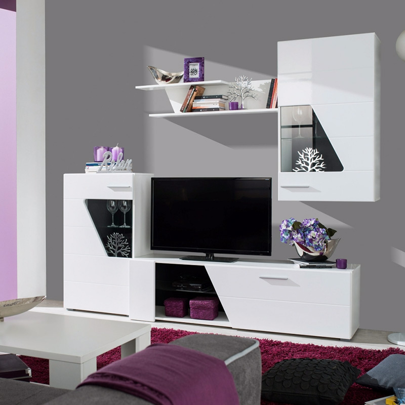 15 meubles tv led pour un salon contemporain blog but. Black Bedroom Furniture Sets. Home Design Ideas