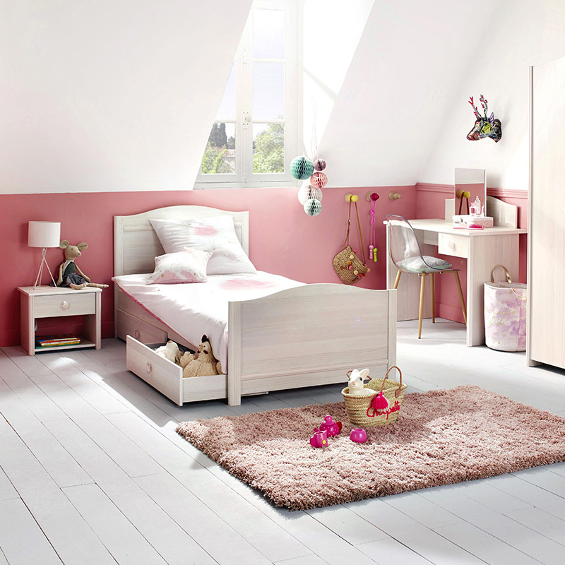 le lit enfant en bois so cosy blog but. Black Bedroom Furniture Sets. Home Design Ideas
