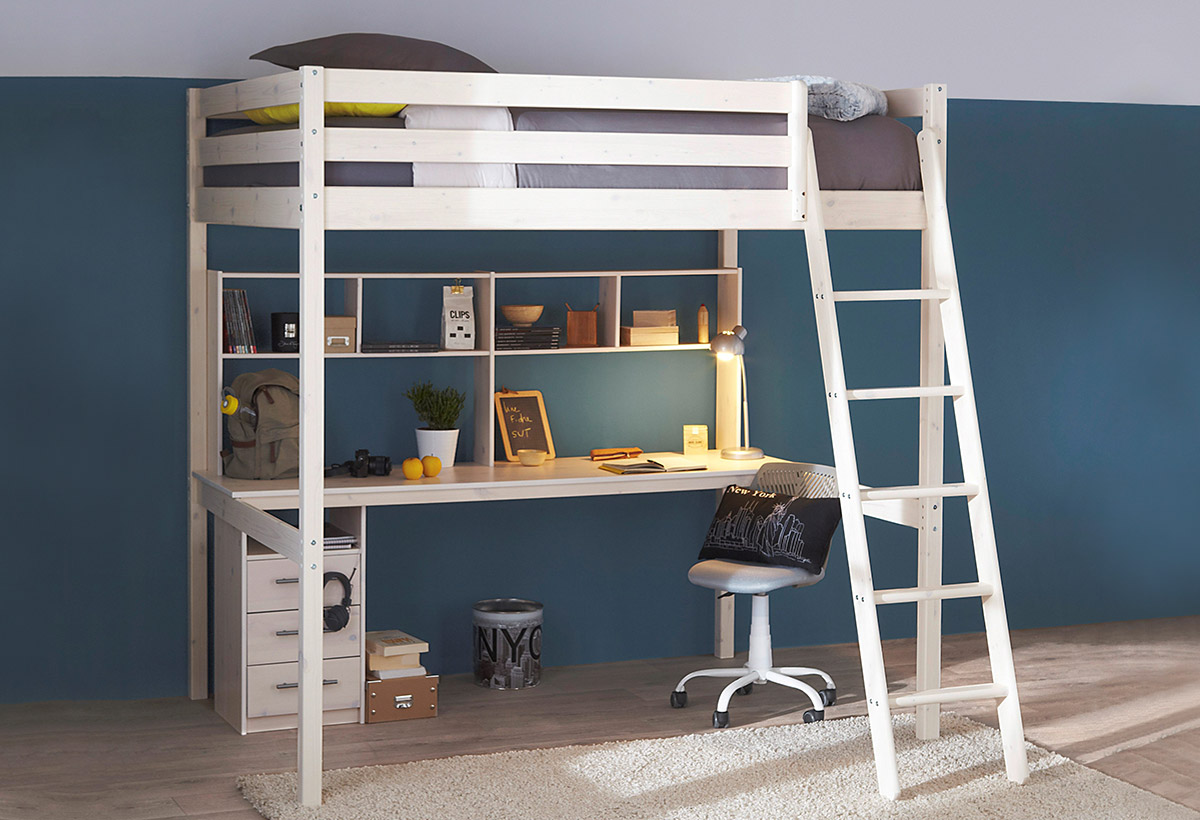 10 lits enfants en mezzanine pour s 39 inspirer blog but. Black Bedroom Furniture Sets. Home Design Ideas