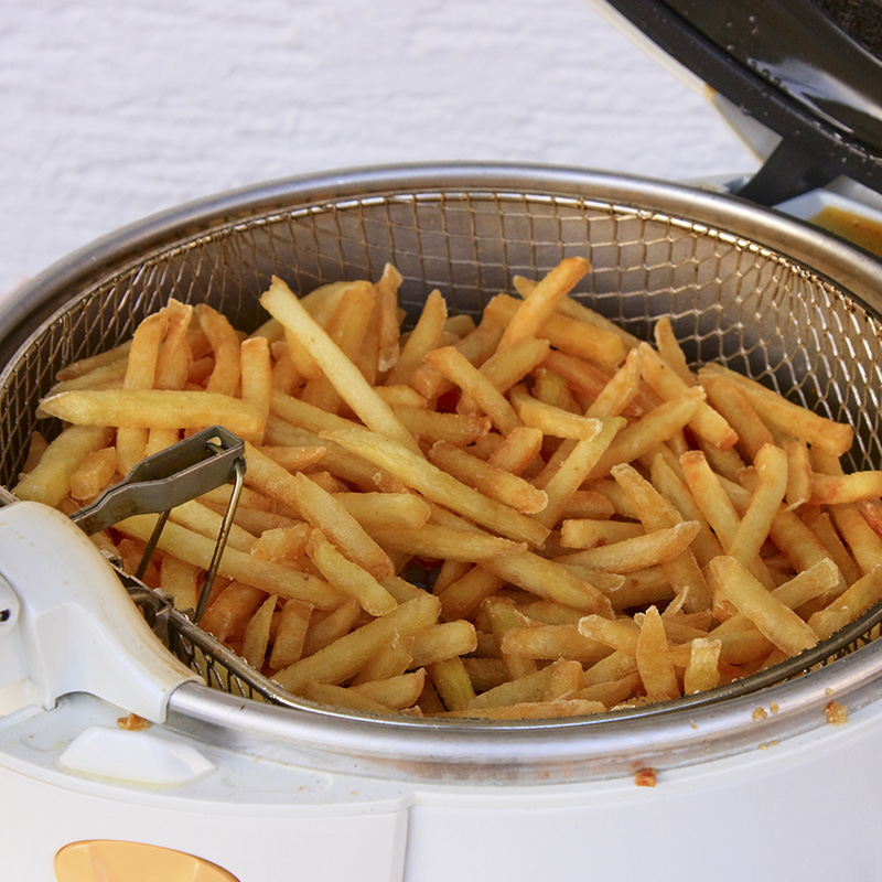 friteuse capacite frites
