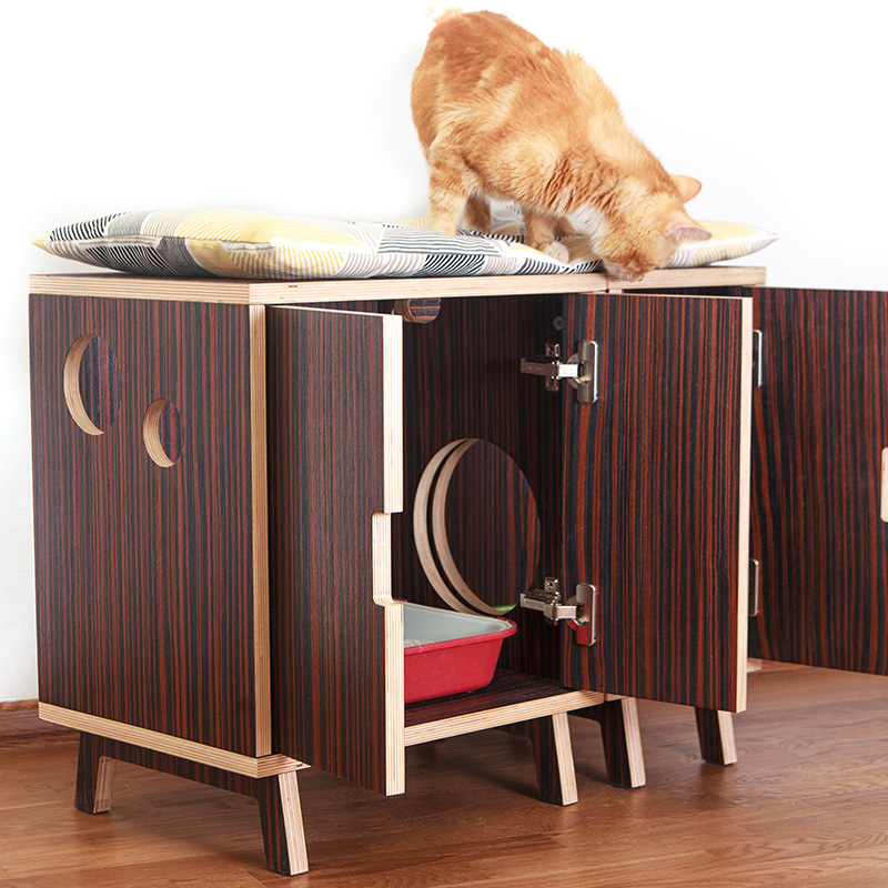 amenager meuble multifonction chat