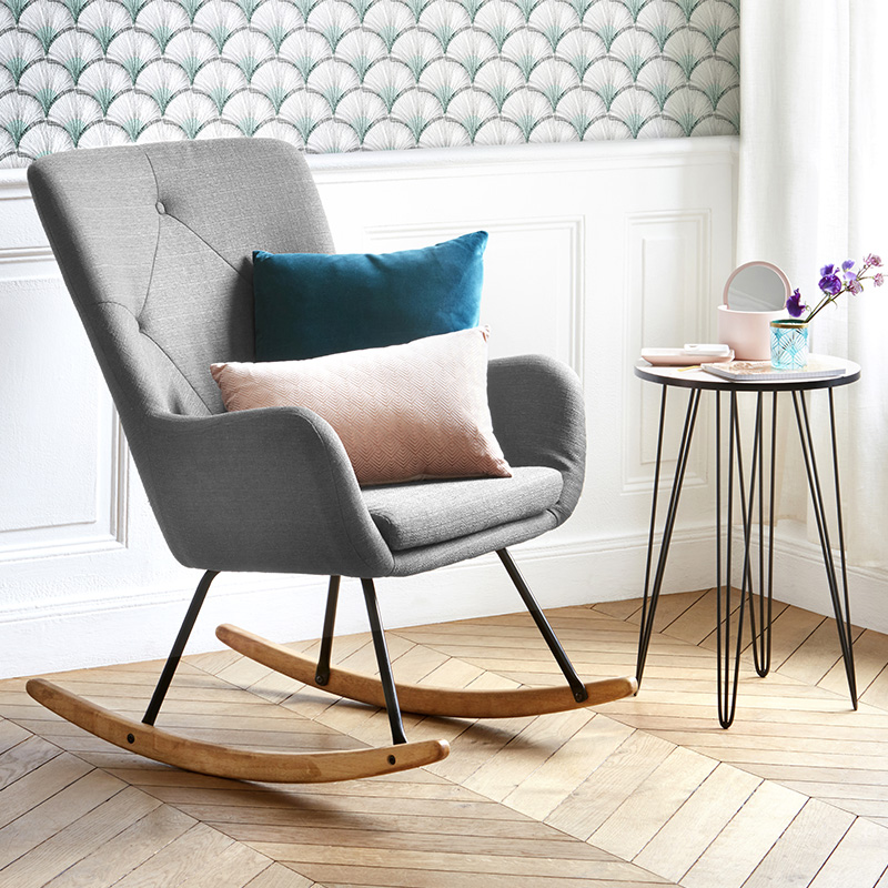 fauteuil a bascule chambre bebe simple incroyable rocking chair chambre bb articles with chaise. Black Bedroom Furniture Sets. Home Design Ideas
