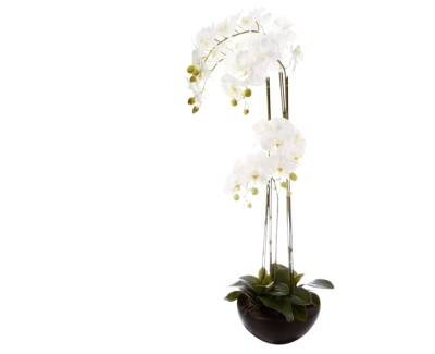 Orchidée artificielle H 110 cm