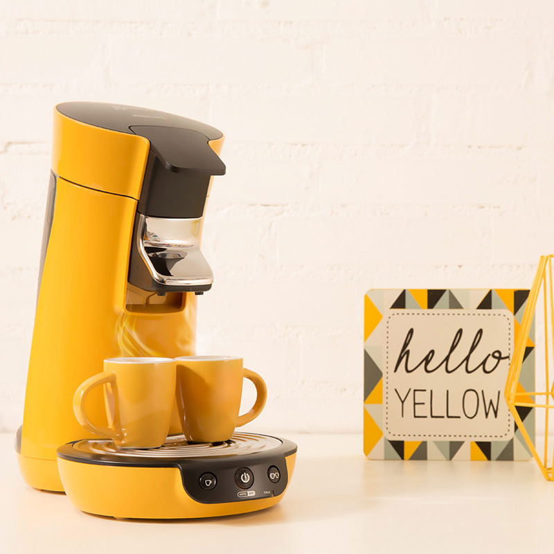 detartrage cafetiere jaune