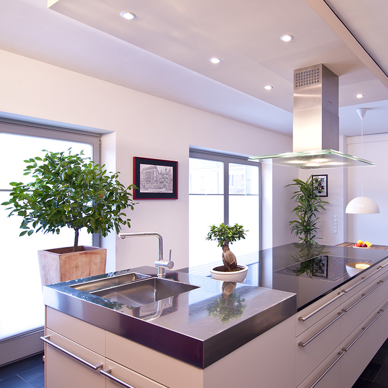 Plan de travail en inox inspirations d co en 10 photos blog but - Plan de travail cuisine inox ...