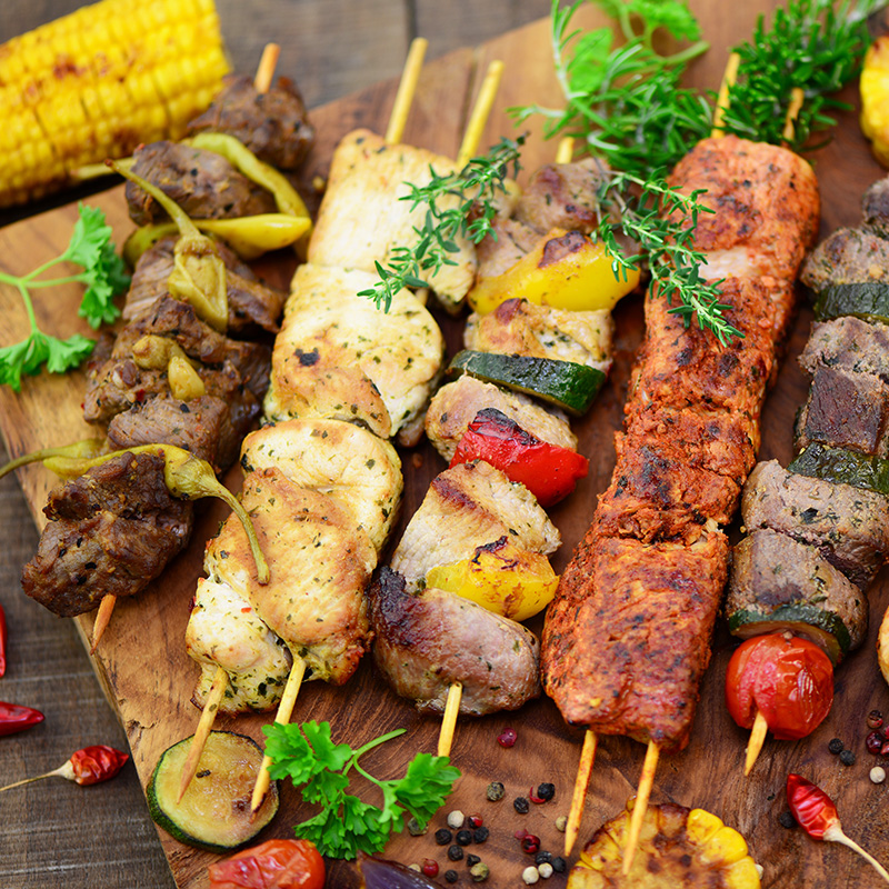 barbecue kit brochette