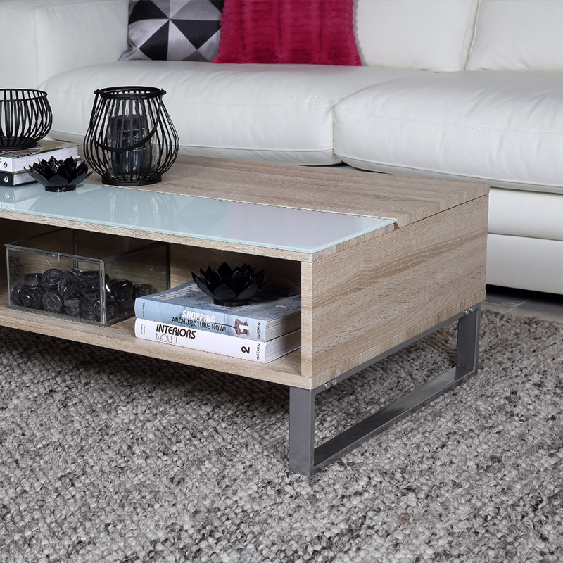 table basse qui s ouvre free tonneau de vin table basse avec plateau de bois recycl qui souvre. Black Bedroom Furniture Sets. Home Design Ideas