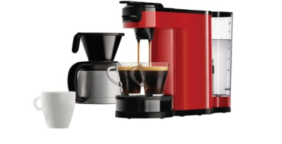 Cafetière à dosette Senseo PHILIPS HD7892/81 Switch rouge