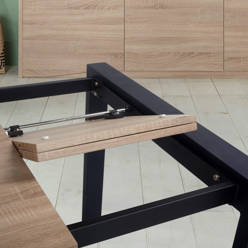 table extensible bois rallonge papillon