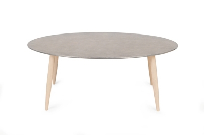 Table basse scandinave ronde MANON Béton