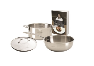 Set casserole CYRIL LIGNAC Pack Inox 4