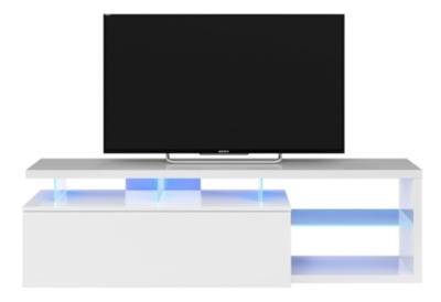 Meuble TV LED LEAD Blanc
