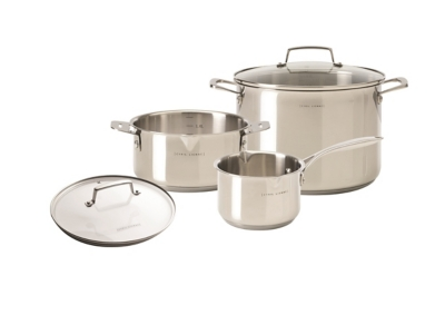 Set casserolerie CYRIL LIGNAC Pack Inox 3