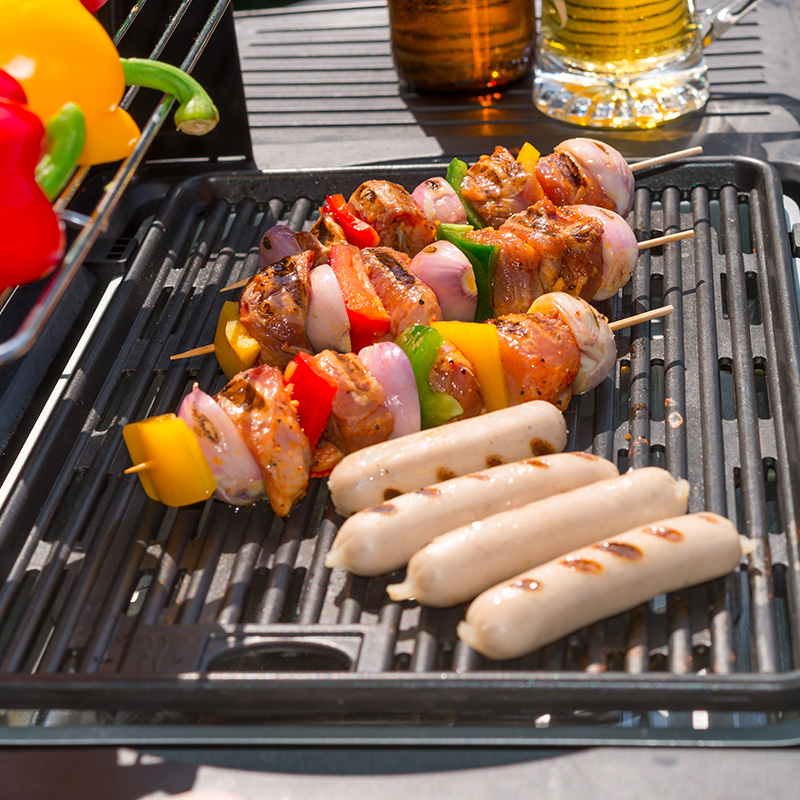 barbecue tefal grille grillades