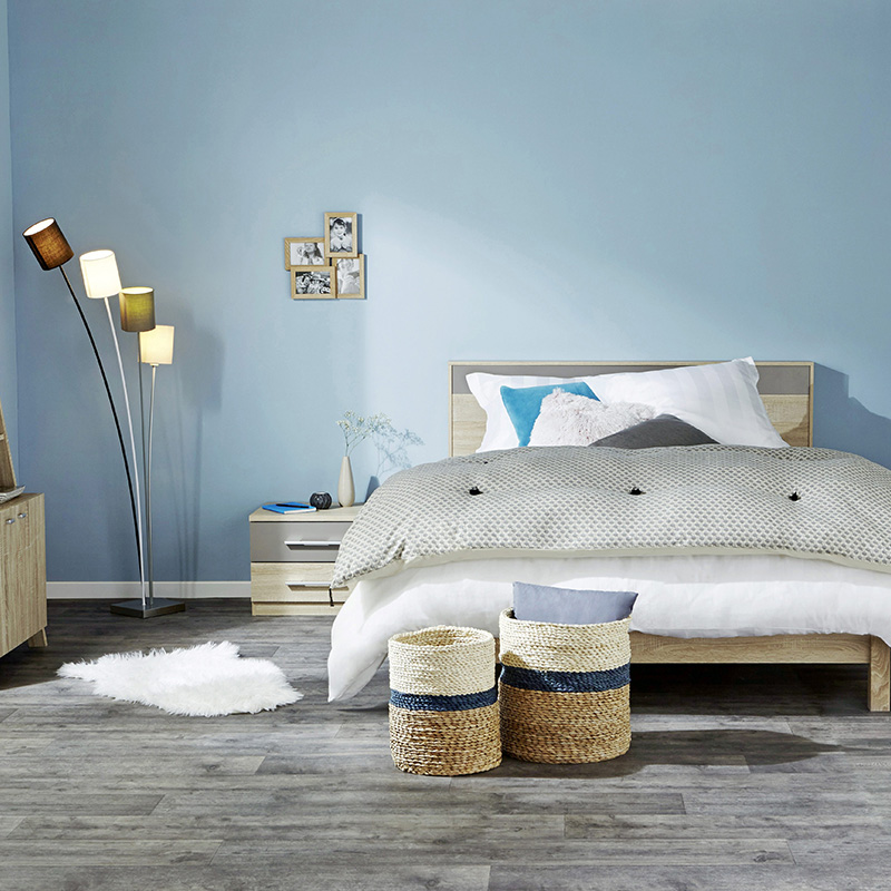 decoration bleu cocooning chambre