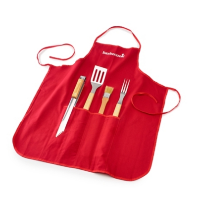 Set tablier BARBECOOK 4 accessoires