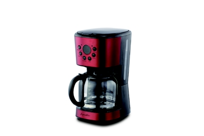CAFETIERE SIGNATURE CM9405T-GS inox/rouge