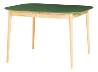 Table + allonge FLODEN Vert