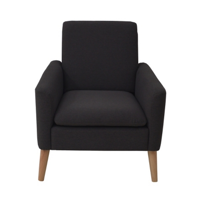 Fauteuil CHILLY tissu anthracite