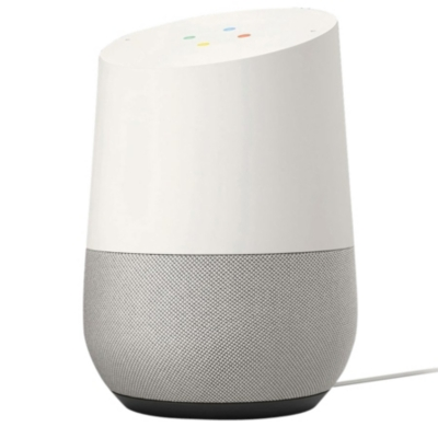 Enceinte intelligente GOOGLE Home Blanc