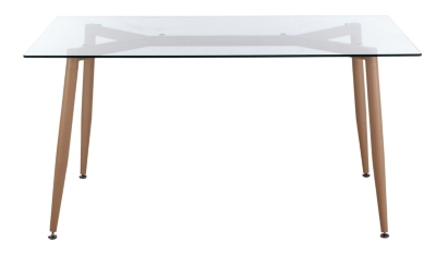 Table rectangle L 150 cm SPIDER Verre