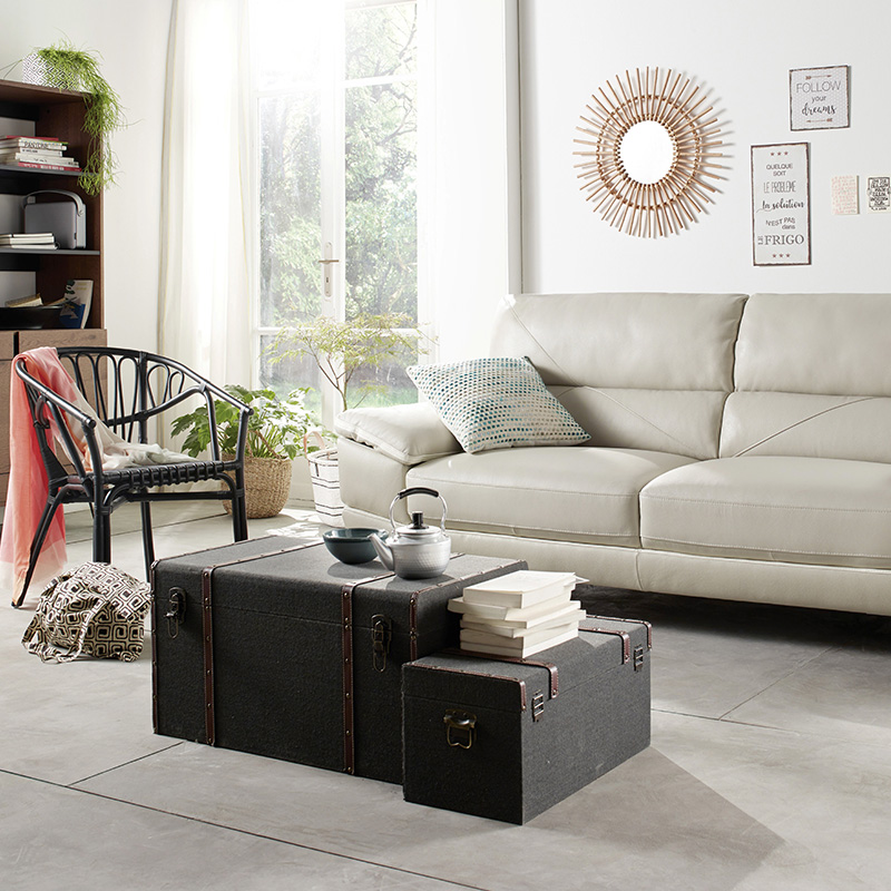 malle table basse