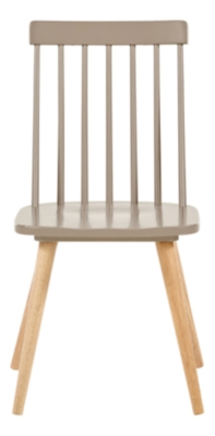 Chaise INES taupe/naturel