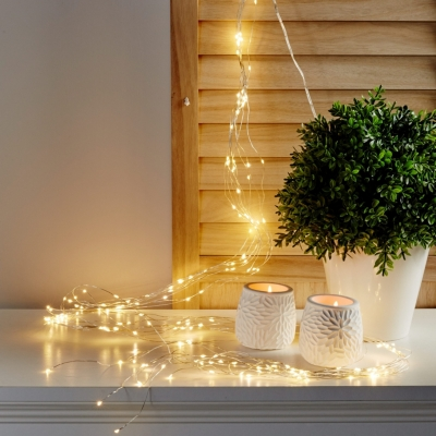 Cascade microled 300 LED  Blanc froid