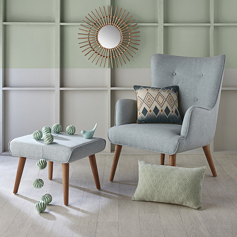 chaise fauteuil repose pieds