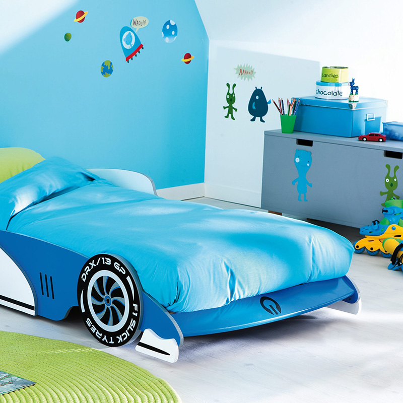 chambre enfant sticker coloree