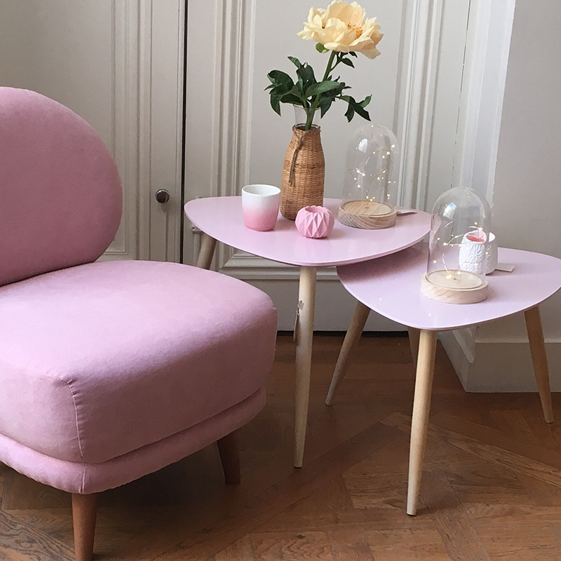 tables basses gigognes fauteuil